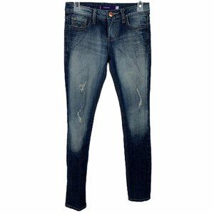 Vigoss Distressed Skinny Jeans Size 0